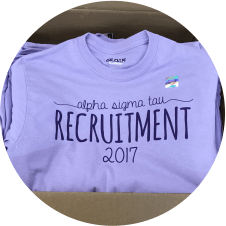 Alpha Sigma Tau Spring 2017 Recruitment